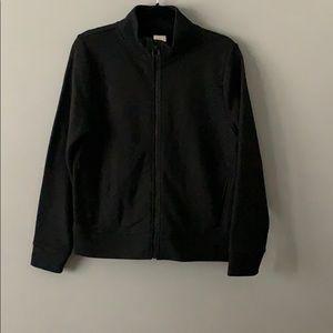 A New Day Basic Zip Up Jacket Black Size L